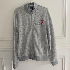New Emporio Armani Zipped Sweatshirt